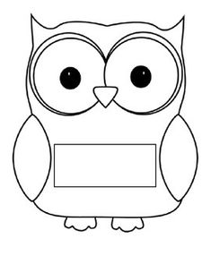 Simply print out the owls write the child's name then cut them out. They can be put on lockers, backs of the chairs or as a door decoration. There are colored ones or black and white ones. The black and white ones could be a first day activity for the children to color, cut, and write their name on the tag then put it up on the doorway.