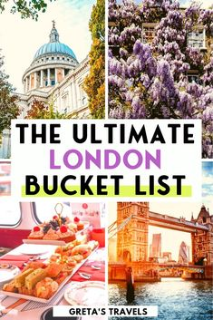 Planning a trip to London? Find out all the best things to do with this ultimate London bucket list! Having lived in London for 7 years I can say I know what I'm talking about, and have included in th London England Travel, London Travel, London Shopping, Prague Travel, Best Places To Travel, Cool Places To Visit, London Activities, Weekend In London, Europe Travel Guide