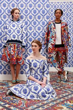 Pattern on pattern on pattern!