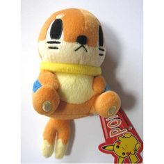 Pokemon Center 2006 Buizel Pokedoll Series Plush Toy