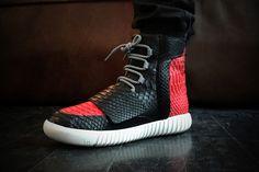 Custom Python Yeezy 750 Boost by Modern Vice #shoes #fashion