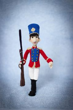 The Steadfast Tin Soldier - ToyMagic Сrochet Pattern [PDF instant download] Hans Christian Andersen fairytale by ToyMagic on Etsy https://www.etsy.com/listing/479671435/the-steadfast-tin-soldier-toymagic