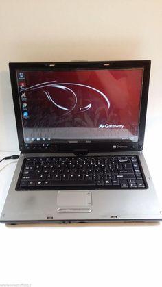 Gateway M285 ta6 t5500 1.6ghz 15.4' screen dual core 1gb ram Win 8.1 Tablet PC #Gateway