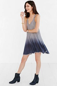 Ecote Racerback Trapeze Dress - Urban Outfitters
