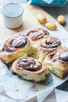 Potatoes Cinnamon rolls via @cuisineaddict