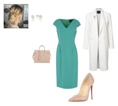 """""""Work"""" by cgraham1 on Polyvore featuring Giorgio Grati, Christian Louboutin, Alexander Wang and Yves Saint Laurent"""