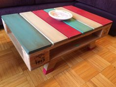 Diy Home Furniture, Recycled Furniture, Pallet Furniture, Cool Furniture, Diy Home Decor, Diy Pallet Projects, Wood Projects, Pallet Art, Diy Table Top
