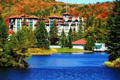 The Balsams Hotel, Fall, Dixville Notch, NH by Bruce Seltenright