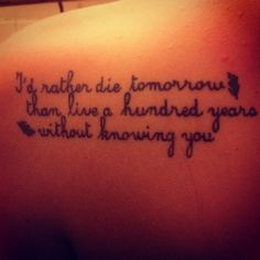 47 #Inspiring Quote Tattoos That Will Make You Want to Get Inked ...