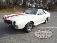 1969 AMC AMX Javelin has been beautifully restored to show room condition and represents 1 of the 2,183 with the 390 and auto trans.
