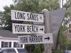 'York, Maine' York Beach by KarenandCory