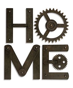 Gear Wall Decor decor for 2nd floor conference room wall gears & sprockets wall