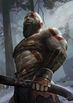 Kratos: god of war.