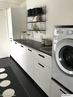 Pappelina - Lilly is Love Interior Design Living Room, Living Room Designs, Modern Laundry Rooms, Laundry Room Inspiration, Laundry Room Organization, Laundry Room Design, Küchen Design, Home Remodeling, Room Ideas