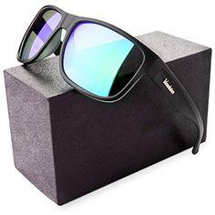 e79f25356b Verdster Gafas de sol Polarizadas TourDePro Para Hombres - Lentes Espejados  - Protección UV - Incluye