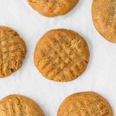 Keto Peanut Butter Cookies Recipe - low-carb, sugar-free, gluten-free cookies made with only 3 ingredients in 20 minutes. Keto Cookies, Keto Peanut Butter Cookies, Peanut Butter Mousse, Peanut Butter Cookie Recipe, Peanut Butter Recipes, Gluten Free Cookies, Milk Cookies, Almond Cookies, Pumpkin Cookies
