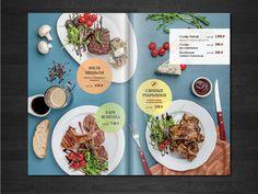 The menu for the grill cafe. Still-life, food stylist, idea, design, retouch my. Photo - Aleksandr Khomyakov ahphoto.ru