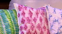 "Clinton's Craft Corner: Learn how to make the beautiful drip dyed pillow covers that Clinton Kelly DIY'd on the January 14th episode of ""The Chew"" with instructional videos."