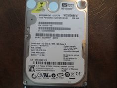 WD WD3200BEVT-22ZCT0 DCM:HHCVJBBB 320gb Sata (Donor for Parts) - Effective Electronics