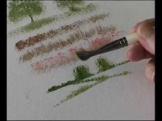 Terry Harrison's Pro Arte Masterstroke Brushes - The Tree & Texture