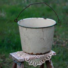 www.forevervintagerentals.com #industrial #vintage #bucket #forevervintagerentals