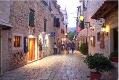 beautiful but secret city in Kroatia