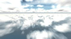 flying through clouds - free video background