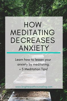 How To Meditate For Anxiety Anxiety can feel overwhelming and frustrating. Learn why meditation helps anxiety, and 5 tips for how to meditate for anxiety. Meditation For Anxiety, Meditation For Beginners, Meditation Benefits, Meditation Techniques, Chakra Meditation, Daily Meditation, Mindfulness Meditation, Meditation Images, Meditation Exercises