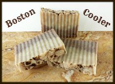 """Boston Cooler"" Custom Handmade Organic Shea Butter Soap Bars. Unique Dessert Drink Scent. Moisturizing, Vegan, Gluten Free. 4 to 5 oz Bar by earthsownbathnbody, $5.50 each, or check my shops for Soap Bar Gift Sets!"