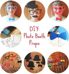 Bee Happy, Live Simply: DIY: Photo Booth Props
