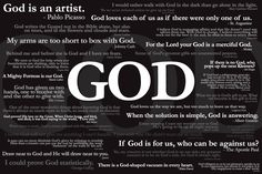 Quotes about God from famous people