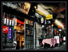Old Bar in Japan
