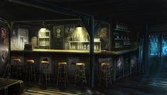 Motel bar by M-Wojtala.deviantart.com on @deviantART