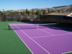 Residential Tennis Court