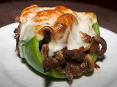 Philly cheese steak peppers