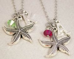 2 Best Friends Necklaces Gift for Best by CharmedByTwentySix7