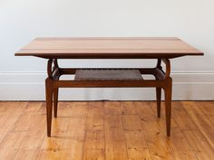1960S Midcentury Danish teak metamorphic coffee table easily converts into a dining table. Designed by Trioh Denmark although there is no makers label. Two extension leaves pull out from underneath the table converting it into a dining table that seats 4 to 6 people. A coffee table by day or an extendable dining table by night. Perfect for a living room where you maybe tight for space particularly for a London flat.   Coffee Table Length: 123cms. Coffee Table Depth: 54cms. Height: 54cms…