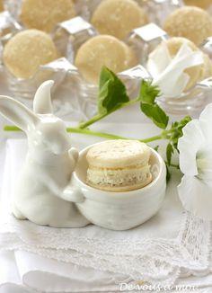 De vous à moi...: Macarons à la Noix de Coco