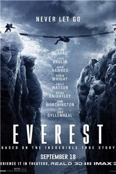 Download Everest Torrent. Kickass and original Yify/Yts Torrent in real 3D 1080P HD and 720P HD