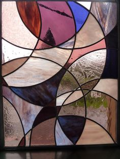 Dust Storm Stained Glass by BlueFishStudios on Etsy, $225.00