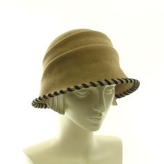 Felt Cloche Hat for Women  Vintage Style by TheMillineryShop, $245.00