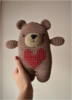 Mesmerizing Crochet an Amigurumi Rabbit Ideas. Lovely Crochet an Amigurumi Rabbit Ideas. Crochet Amigurumi, Crochet Teddy, Crochet Bear, Love Crochet, Crochet For Kids, Amigurumi Doll, Crochet Animals, Diy Crochet, Crochet Crafts