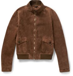 Gucci - Suede Bomber Jacket