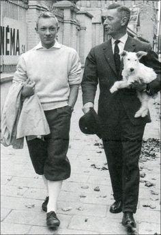 Hergé · Tintín, Hergé, Milú y otros belgas del montón #belgasilustres
