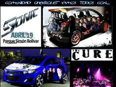 Con Chevrolet Colombia y el CHEVROLET SONIC vamos todos a ver en concierto a The Cure en Bogotá este 19 de Abril. #TheCureDeGiraxChevrolet @Chevrolet Colombia
