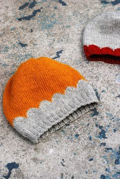 little scallops, free hat pattern by maria carlander. In Swedish and English