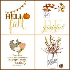 These 10 free fall printables are ready to download and print. Perfect for crafts and decor!