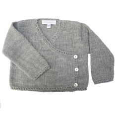 FANNY BELETTE - Cross Cardigan, Grey – FANTASERINI