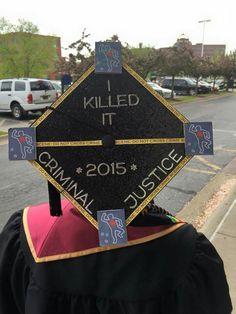 My graduation cap for Spring 2015 University Ashford University, Grad Pics, Online Tutorials, Hollywood Walk Of Fame, Spring 2015, Graduation, Cap, Baseball Hat, Moving On