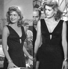 """In Theoni V. Aldredge (Deni Vachliotov) as costumer, designed fabulous outfits for Melina Mercouri, the leading lady in """"Never on Sun. Never On Sunday, Greek Music, Crazy Girls, Best Actress, Cool Costumes, Good Movies, Actors & Actresses, Hollywood, Glamour"""